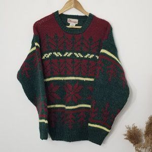 North Country | Festive Patterned Knit Sweater